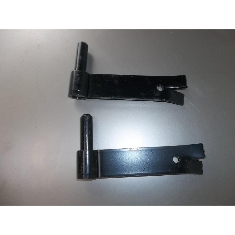 Gonds volet,portails x4 H7.5xL14cm