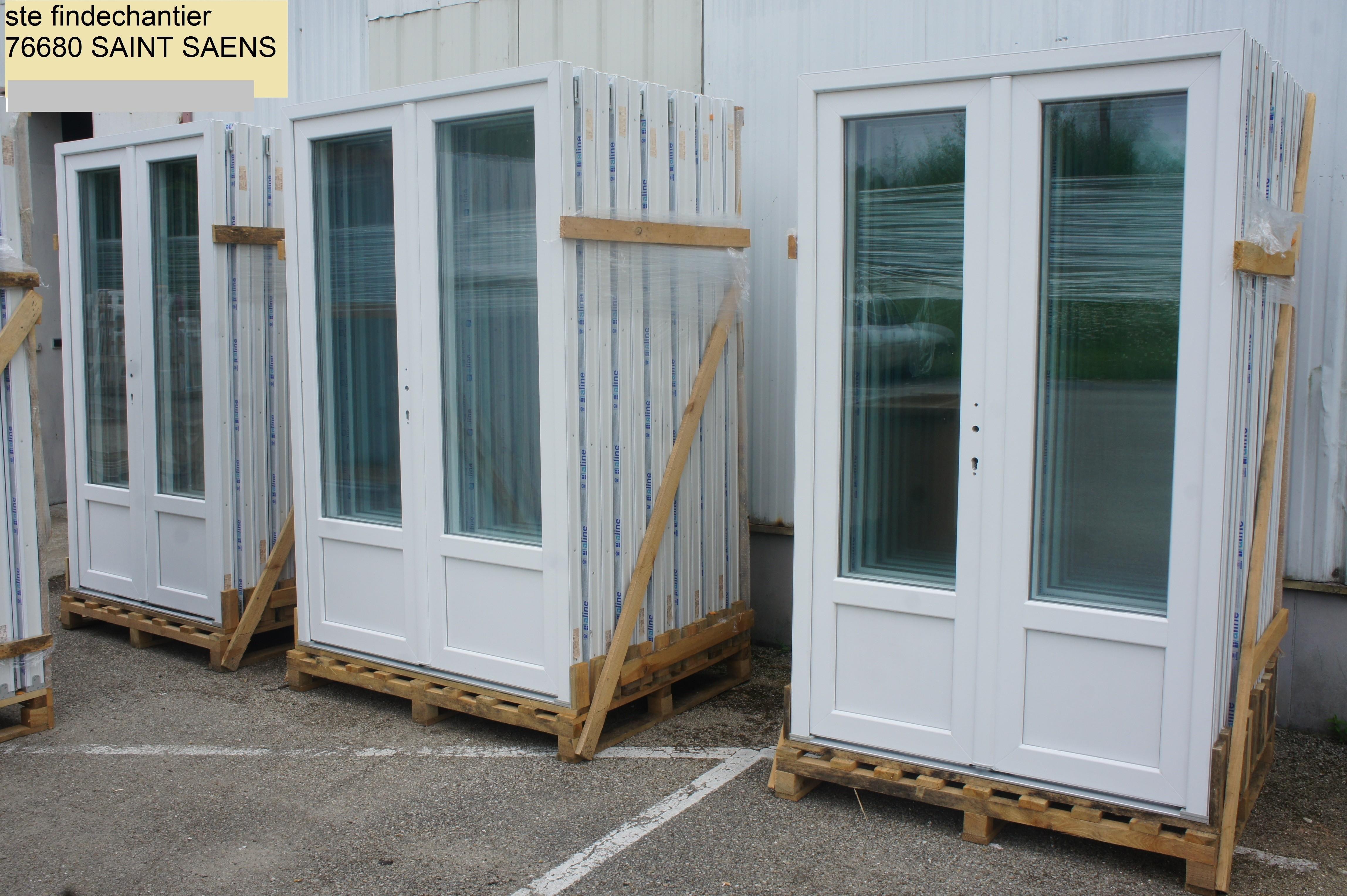 Fen tres d stockage portes volets et menuiseries en pvc - Destockage porte interieur ...